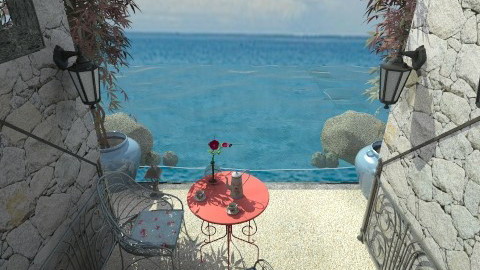 Seaside romance - by milyca8