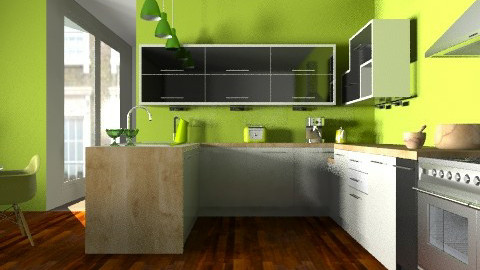Studio Apartment Kitchen - Modern - Kitchen  - by Carliam