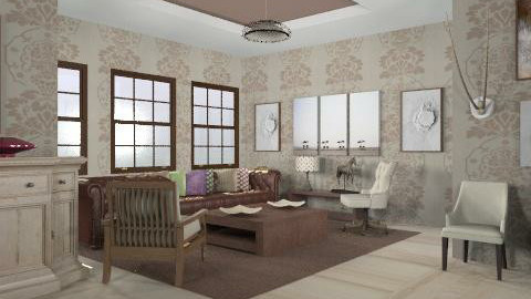 a bit posh - Vintage - Living room  - by trees designs