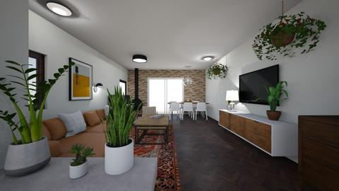 Limor W 1 - Living room  - by erlichroni