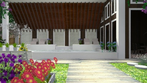 Mountain house: Renovated. - Country - Garden  - by Your well wisher