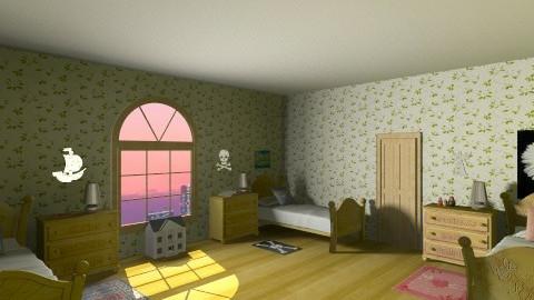 Peter Pan Nursery - Vintage - Kids room  - by HGranger2