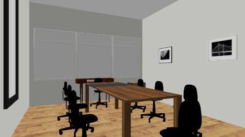Boardroom - Retro - Office  - by AngeK