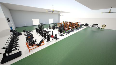 AG Rugby - Lifting Space - by rogue_34d0a7cb9fcddefde53c8214071c7