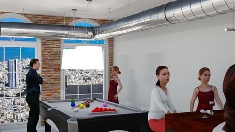 Industrial022550172 - Living room  - by revital022550172