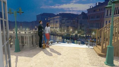 Venice_enjoying the view! - Garden  - by auntiehelen
