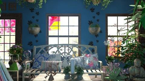 Bahia-Bali - Rustic - Garden  - by M_Lane