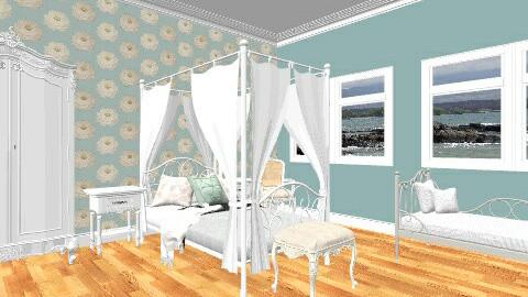 vintage bedroom - Vintage - Bedroom  - by secretsunny