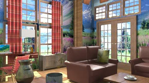 Rustic Canuck - Rustic - Living room  - by shelleycanuck