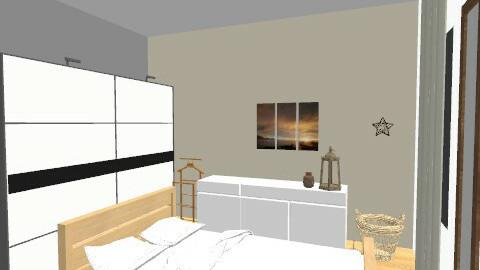 camera da letto5 - Minimal - Bedroom  - by lauraemauri