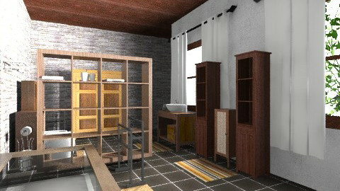 saladeban6 - Rustic - Bathroom  - by izarochaa