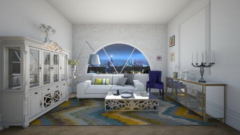 D1  - Glamour - Living room - by Karim Mahfouz