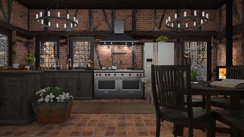 Design 488 Tudor Cottage Kitchen - Kitchen  - by Daisy320