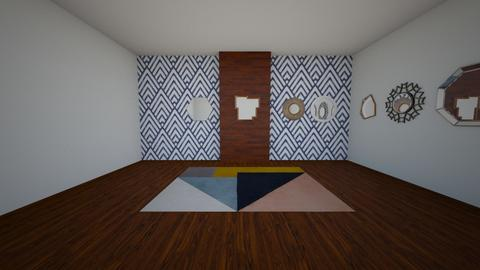 Colors and Shapes - Living room - by ziagray