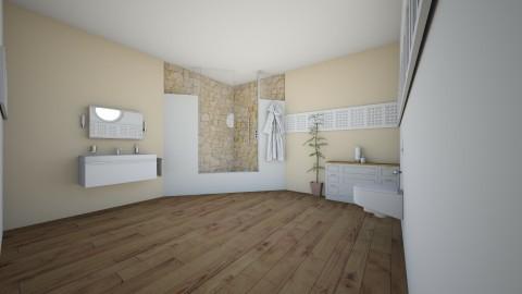 New Bathroom - Bathroom - by aila auk