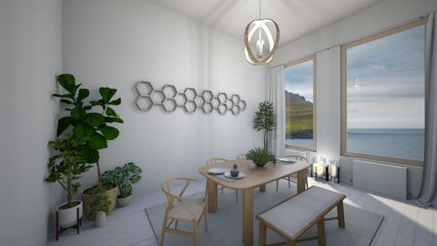 Copenhagen - Dining room  - by denizoden