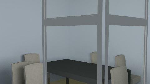 Kim's Dining Room - Dining Room  - by complikada