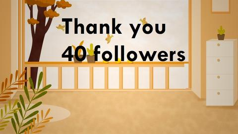 Thanks you Follow Me - by wijesinghe