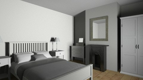 french bedroom - Bedroom - by saelj