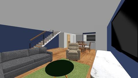1st floor - Living room  - by dernal
