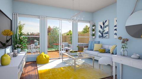 Garden template - Living room - by Ritix