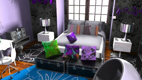Paris Chic Teen Bed - Eclectic - Bedroom  - by Design_freak