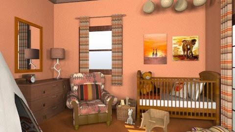 Little Indian - Vintage - Kids room  - by mirkaaa