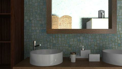 Banyo3 - Country - Bathroom  - by pelinist