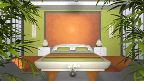 Oriental Touch - Eclectic - Bedroom  - by Theadora