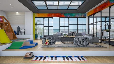 Play in living room - Modern - Living room  - by Ida Dzanovic