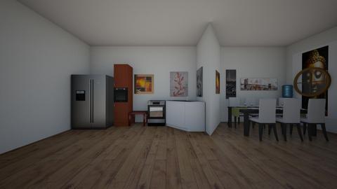 room 4 - Dining room  - by jaienshaeore