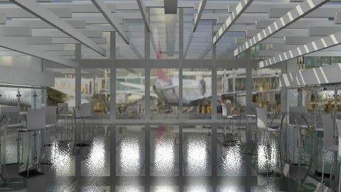 Airport Cafe. - Modern - by Your well wisher