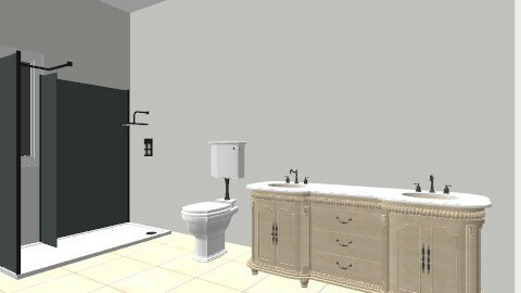 Abby's Bathroom - Minimal - Bathroom  - by schwarz