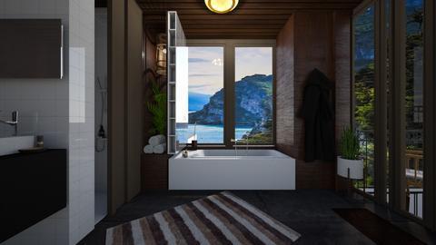 mid century - Modern - Bathroom  - by i l o n a