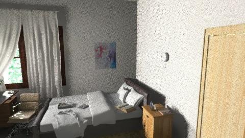 mio - Vintage - Bedroom - by helindir