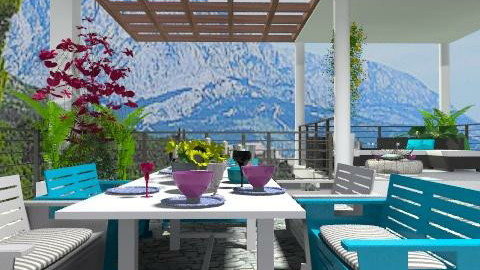 at the terrace_1 - Modern - by lilica