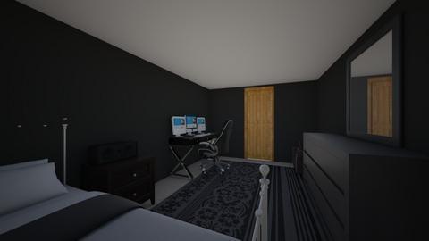 Gamer room - Bedroom  - by ibdesignclass