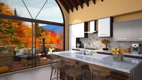 Autumn Kitchen - Kitchen  - by karihegstrom