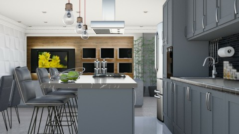 Tonelli - Modern - Kitchen  - by aletamahi