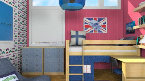 Typical Boys Room - Modern - Kids room  - by chloedaniella