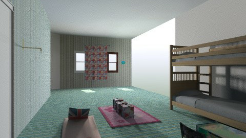 kids room - Retro - Kids room  - by Eirini Papantzikou