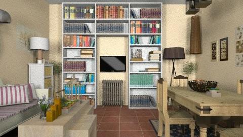 rustic - Rustic - Living room  - by Gabriella Aloia