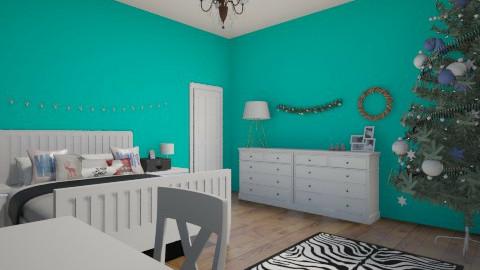 Christmas Room Decor - Bedroom - by ellielou02