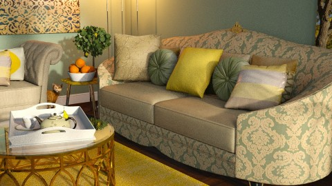 lemon lime - Classic - Living room  - by anchajaya