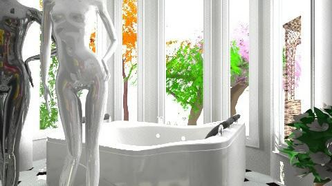 bath - Glamour - Bathroom  - by agatamonserrat