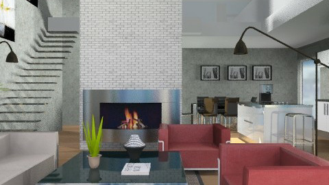 Lofty - Modern - Living room  - by channing4