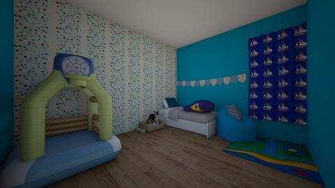 andrew - Kids room  - by marshk