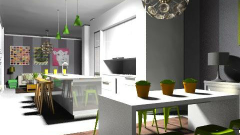 Bringing the Outside In - Modern - Kitchen - by Carliam