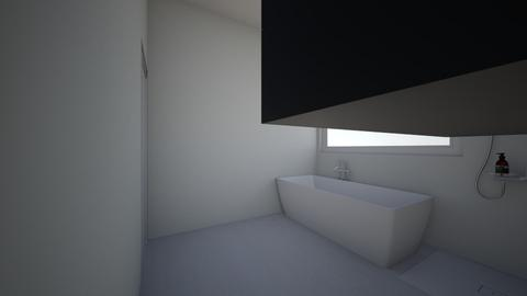 Badkamer - Minimal - Bathroom  - by heleenvd4