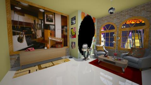 Motown - Retro - Living room  - by FranChi